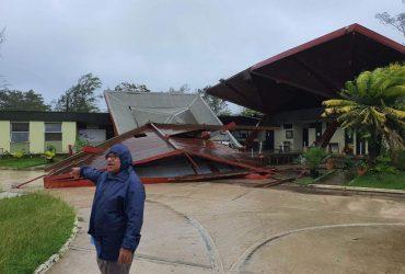"""Мощный тропический циклон """"Гарольд"""" обрушился на Вануату"""