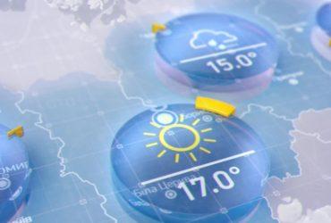 Прогноз погоди в Україні на п'ятницю, 10 квітня