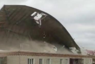 У Казахстані вирував ураган (відео)
