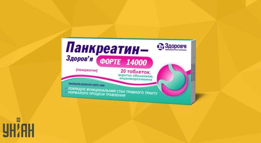 Панкреатин Форте фото упаковки