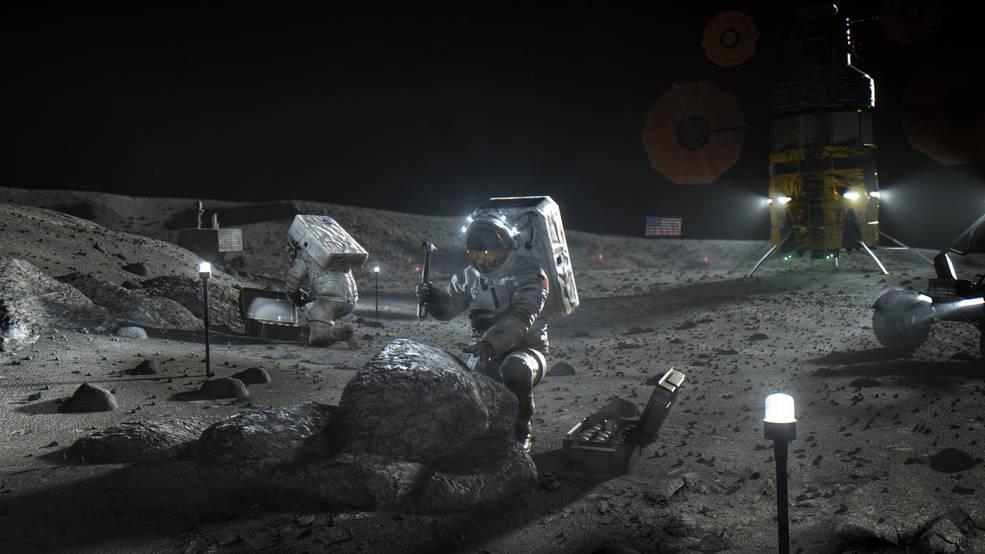 В 1970 году на поверхность Луны совершил посадку «Луноход-1» / фото nasa.gov