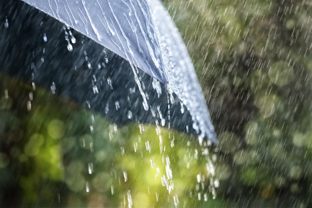 Погода в Києві сьогодні буде дощовою / фото: ua.depositphotos.com