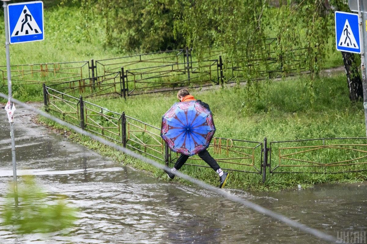 В Киеве 30 мая прошел рекордный дождь / Фото: УНИАН
