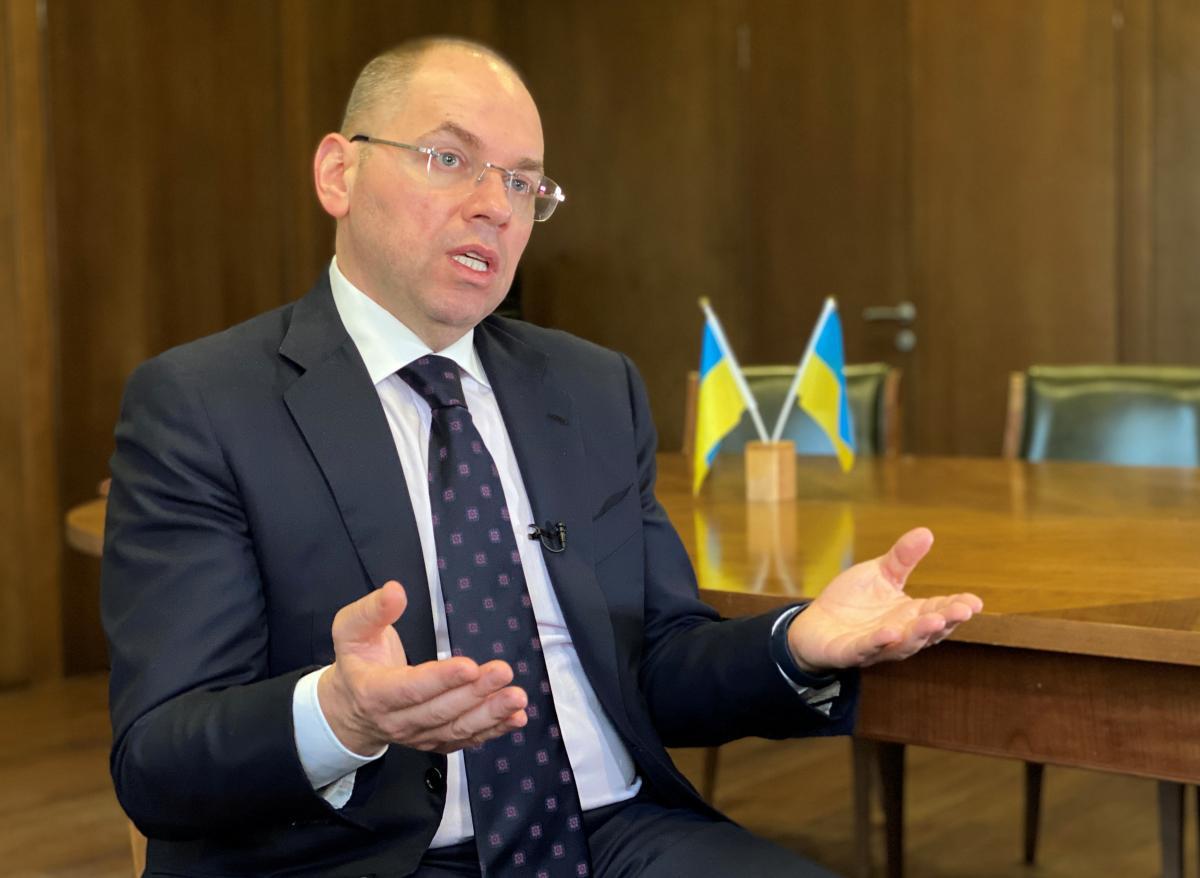Health Minister Maksym Stepanov / REUTERS