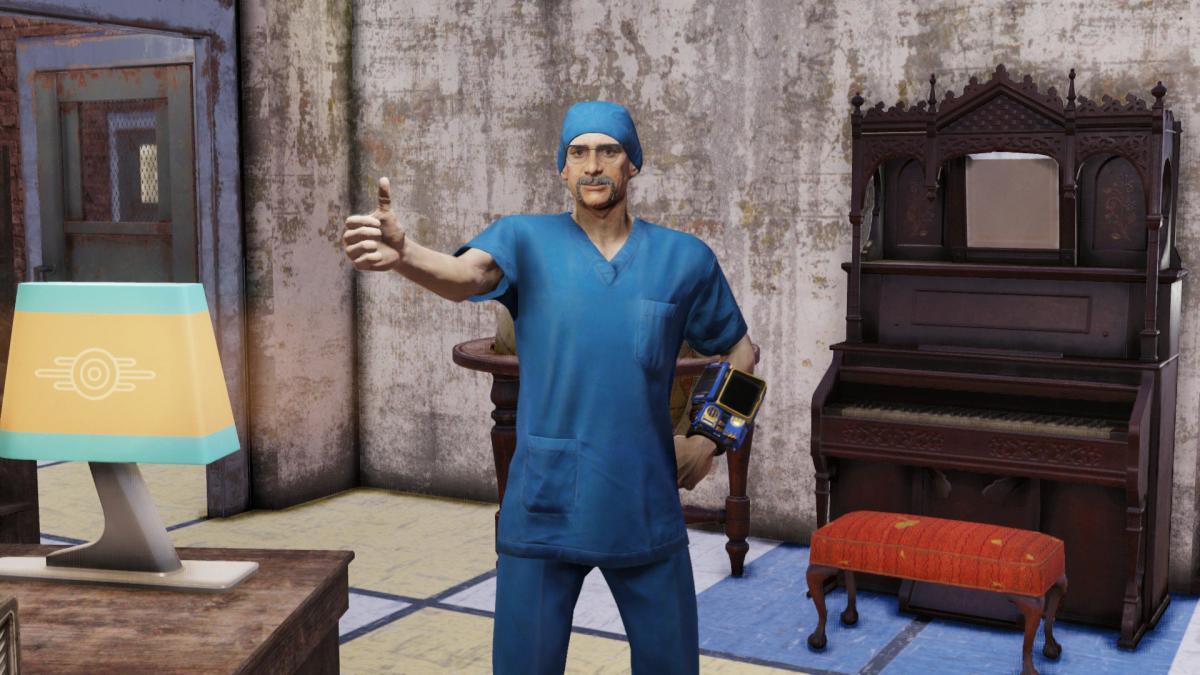 Фанати Fallout 76 організували збір коштів для допомоги ігровому докторові / twitter.com/drcjmartin