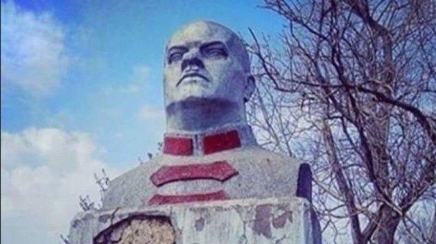 Памятник находился в селе Старокозачьем/ Фото: Первый городской