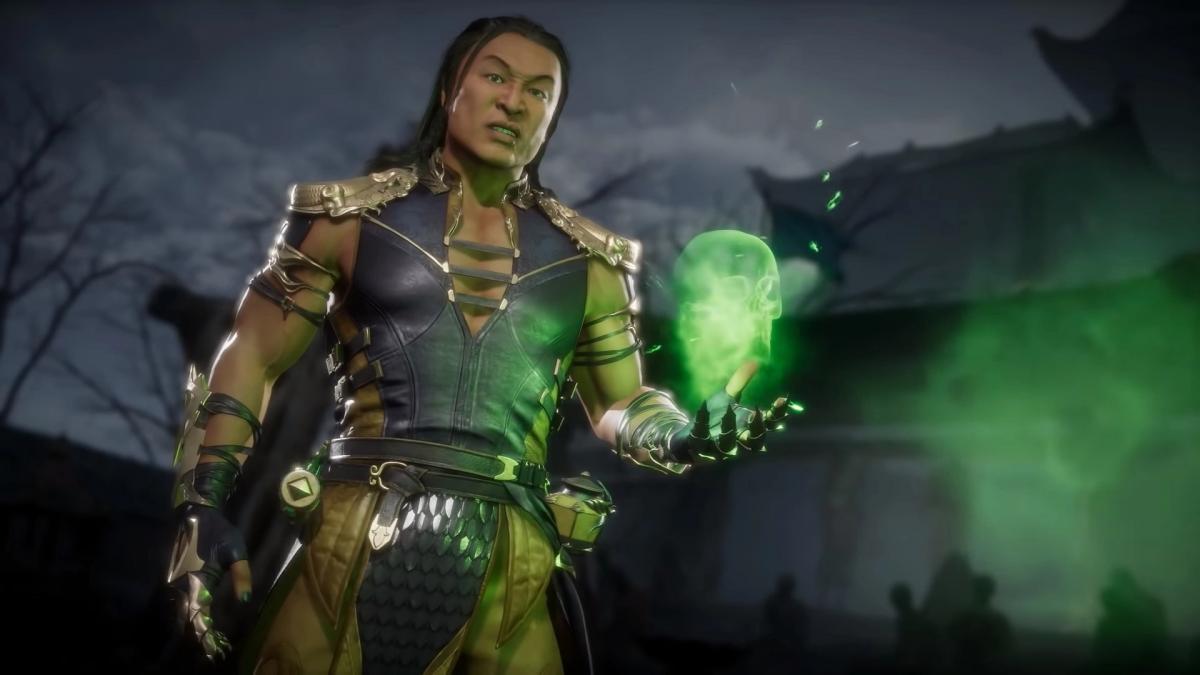 Шанг Цунг в Mortal Kombat 11 / скриншот