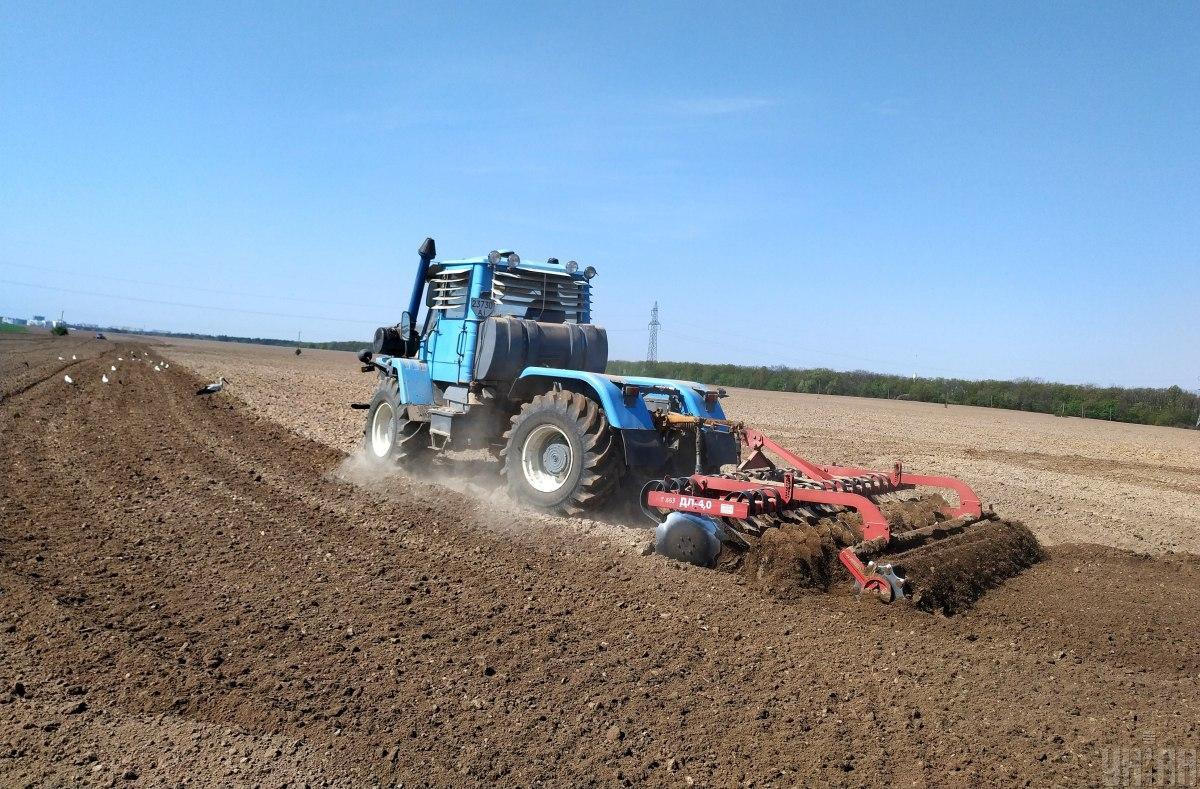Українські аграрії засіяли вже 47% планованих площ / фото УНІАН