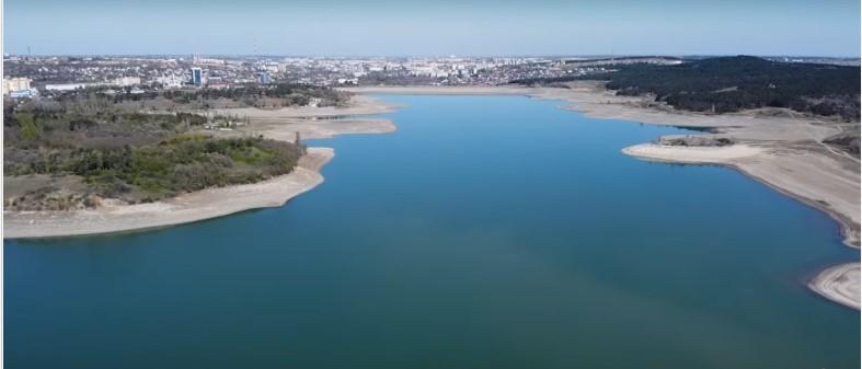 Сімферопольське водосховище після посухи / Youtube Zair Bakkal