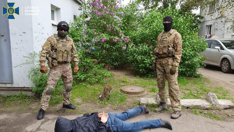 Правоохранители задержали агента 6 мая / фото: СБУ