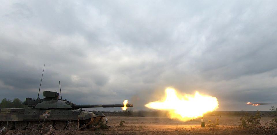 Испытания опытного образца танка Т-72 / facebook.com/GeneralStaff.ua