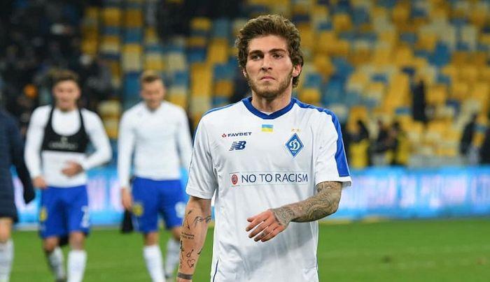 Георгий Цитаишвили в этом сезоне провел в УПЛ 3 матча / фото: dynamo.kiev.ua