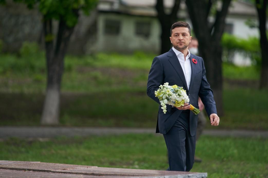 Президент почтил память погибших во Второй мировой войне / фото ОП