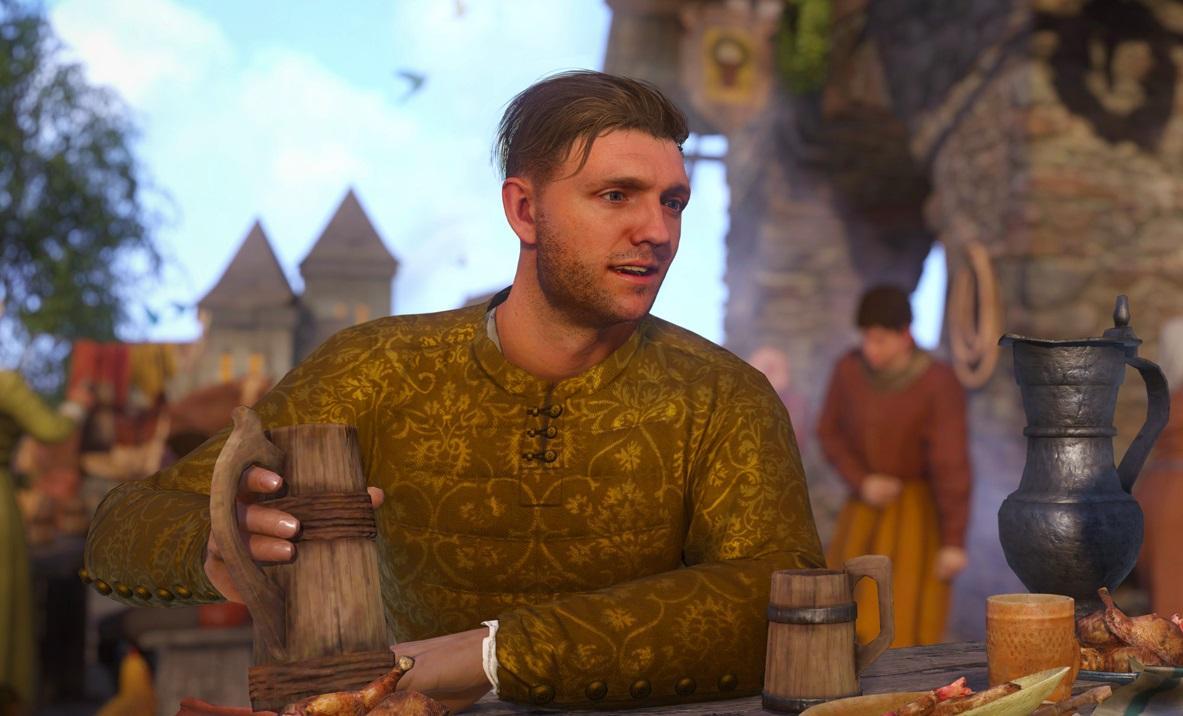 Индржих - главный герой игры / скриншот