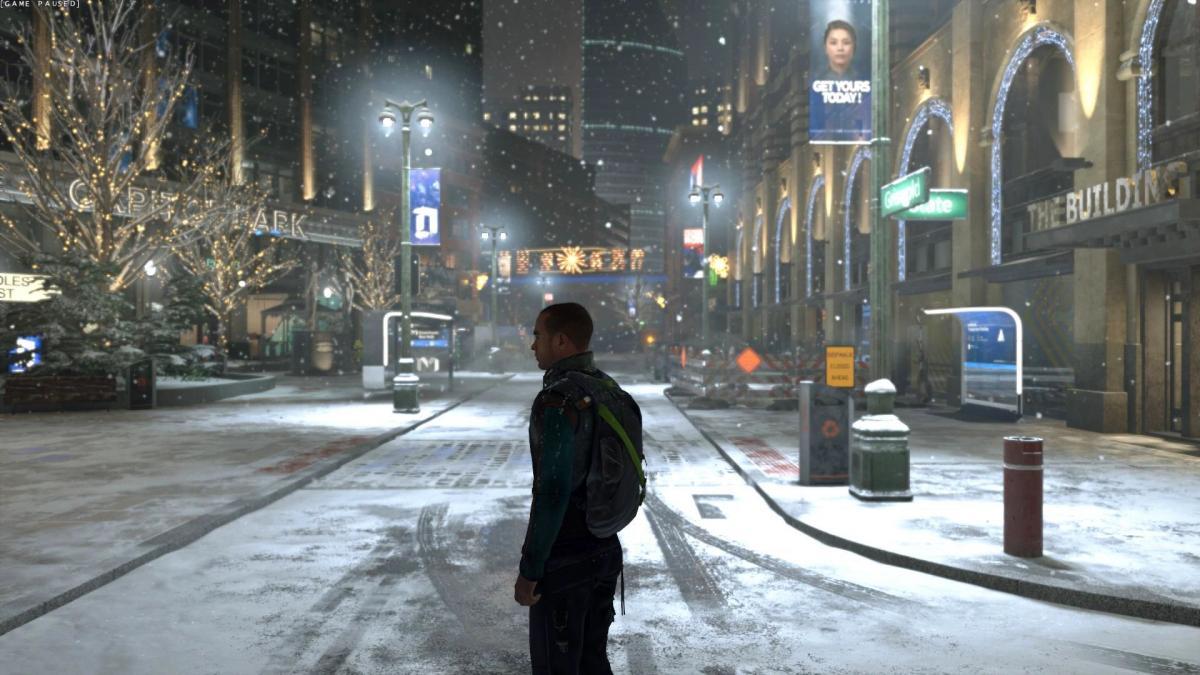 Маркус - третий протагонист игры / скриншот