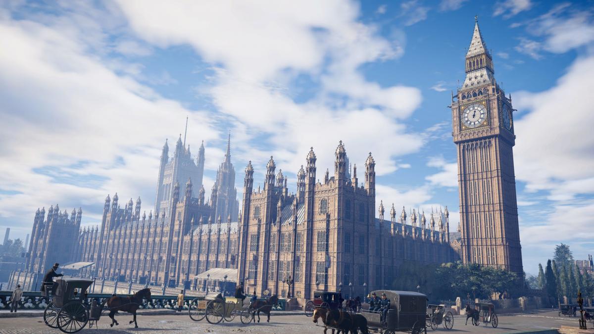 Лондон во всей красе / скриншот