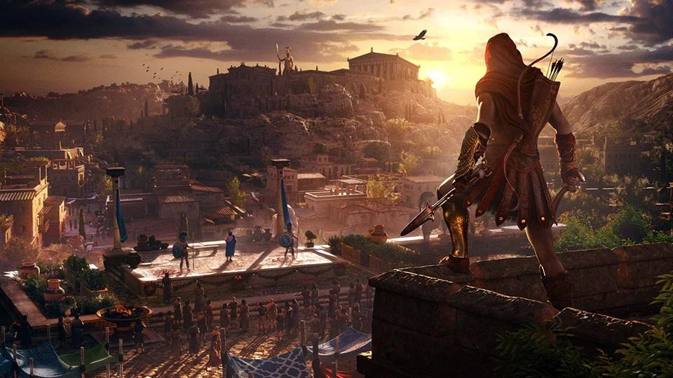 Греция в Assassin's Creed Odyssey / скриншот