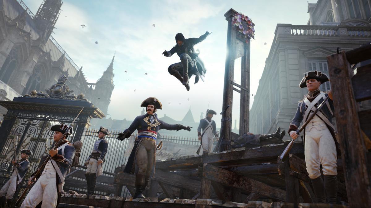 В Assassin's Creed Unity масса развлечений / store.steampowered.com