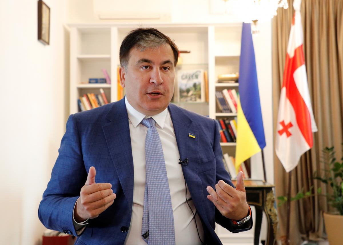 Міхеїл Саакашвілі регулярно коментує політичну ситуацію у Грузії/ фото REUTERS