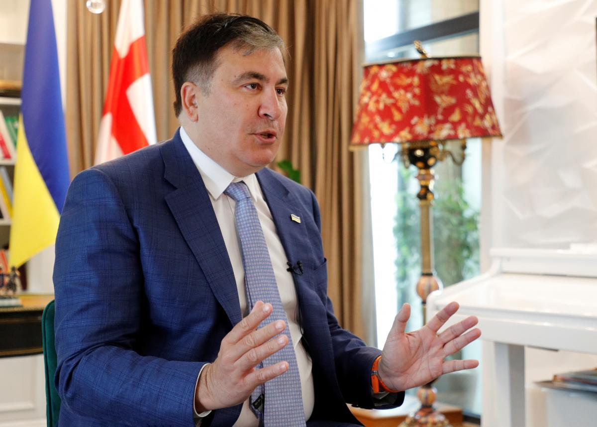 Саакашвили в Грузии ждет тюрьма, говорит министр юстиции / REUTERS