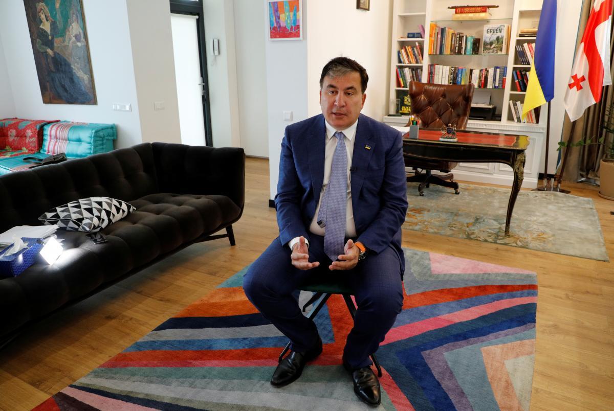 Саакашвили считает себя политическим заключенным / фото REUTERS