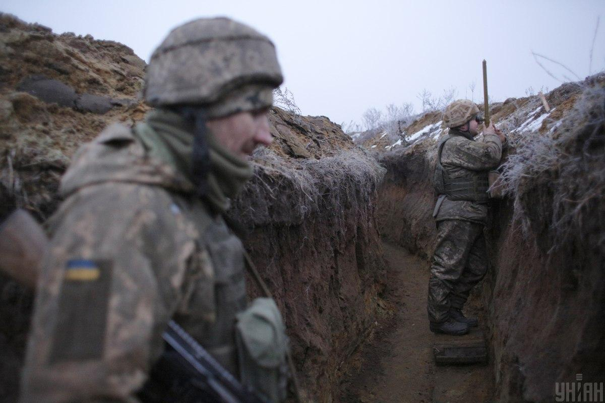 Українські підрозділи зброю у відповідь не застосовували/ фото УНІАН