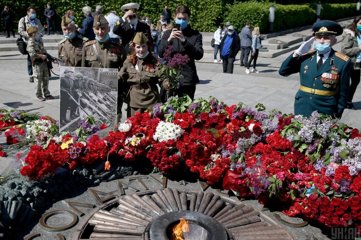 Святкування 9 травня в Києві / фотоУНІАН