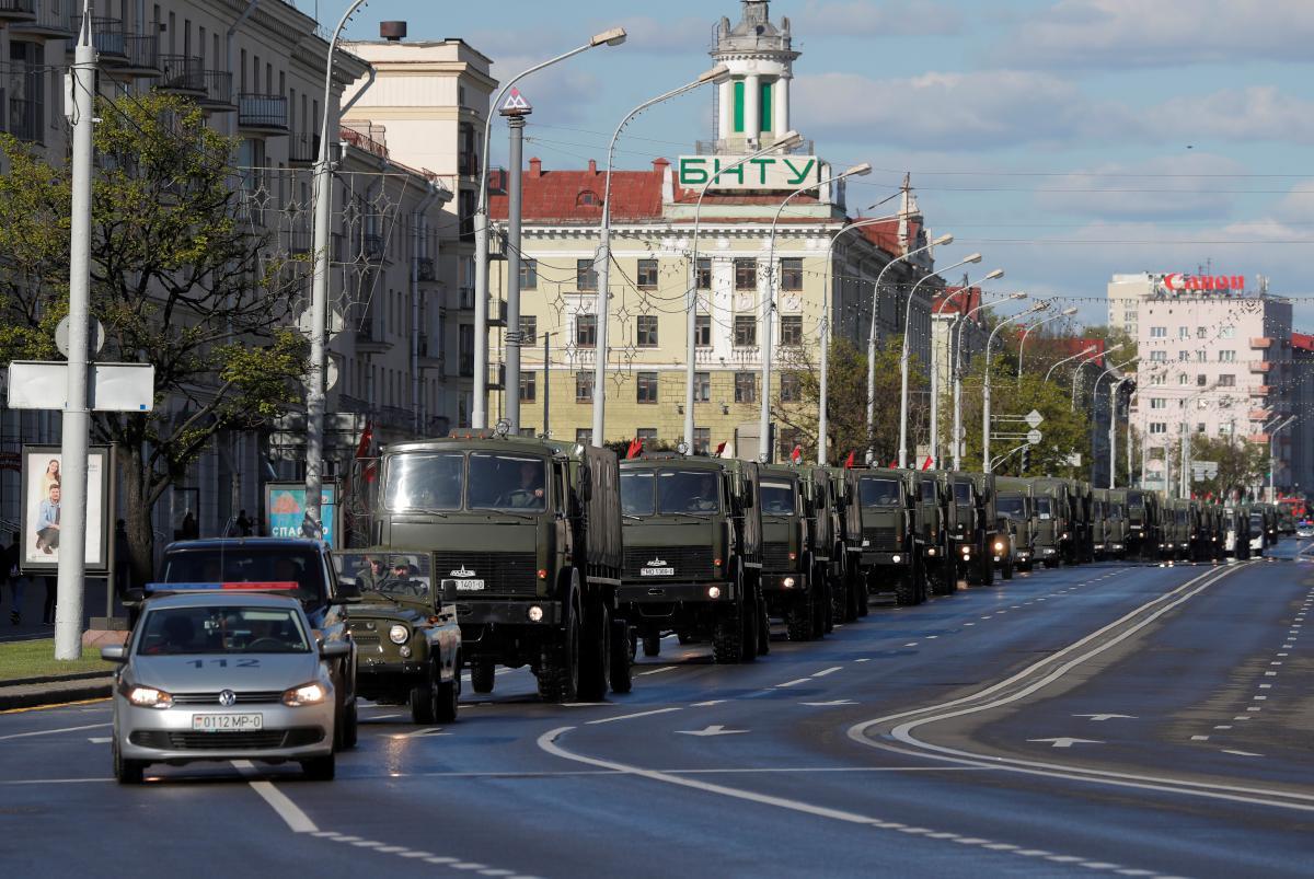 У Білорусі запевнили, що агресії не буде / фото REUTERS