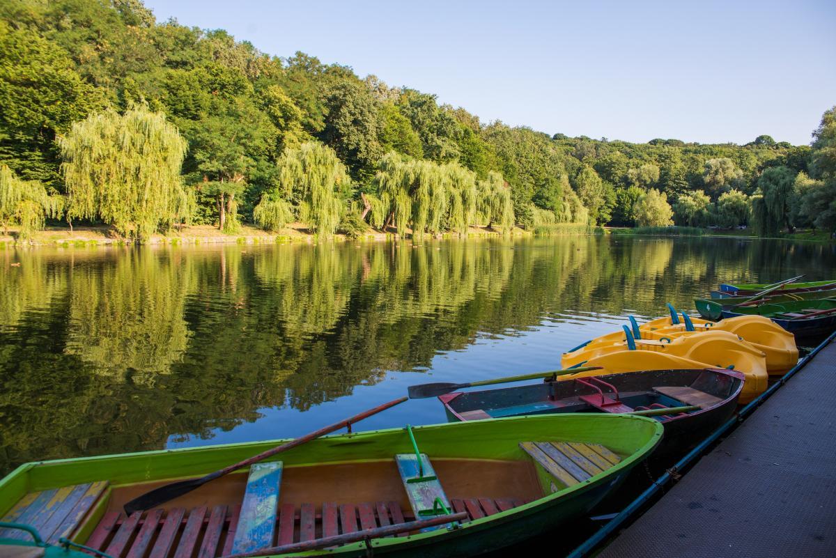 Голосіївський парк Київ / фото Depositphotos