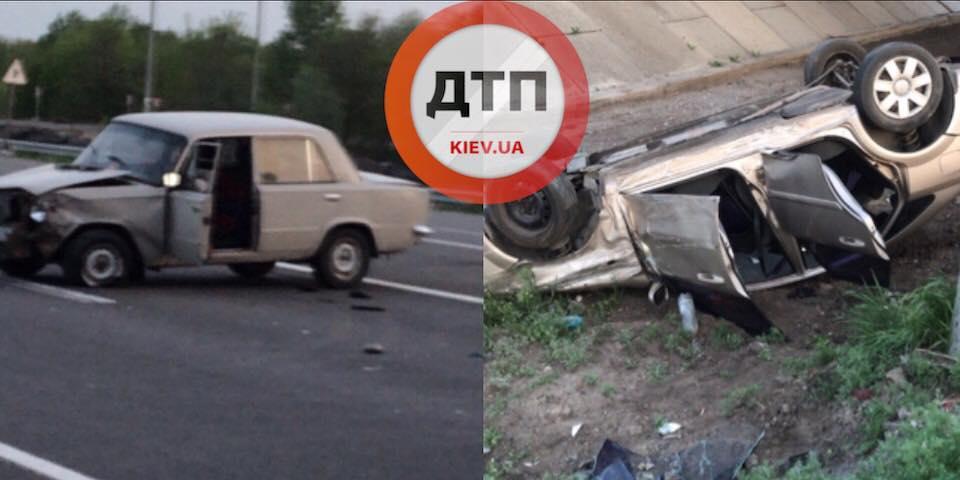 В Белой Церкви произошла авария / dtp.kiev.ua