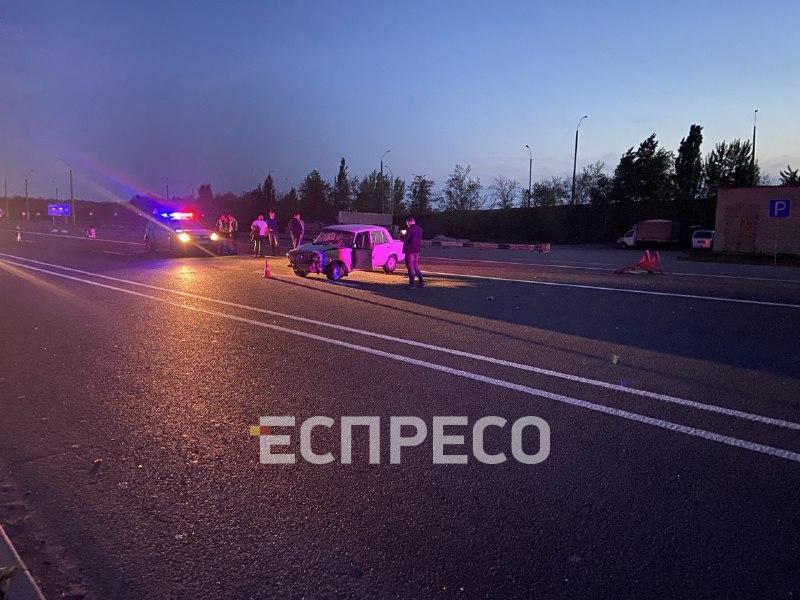 Авария произошла на Одесской трассе / Эспрессо