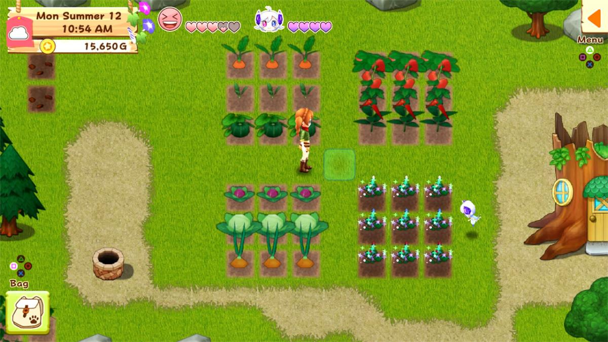 Кадр из предыдущей части серии Harvest Moon: Light of Hope / store.playstation.com