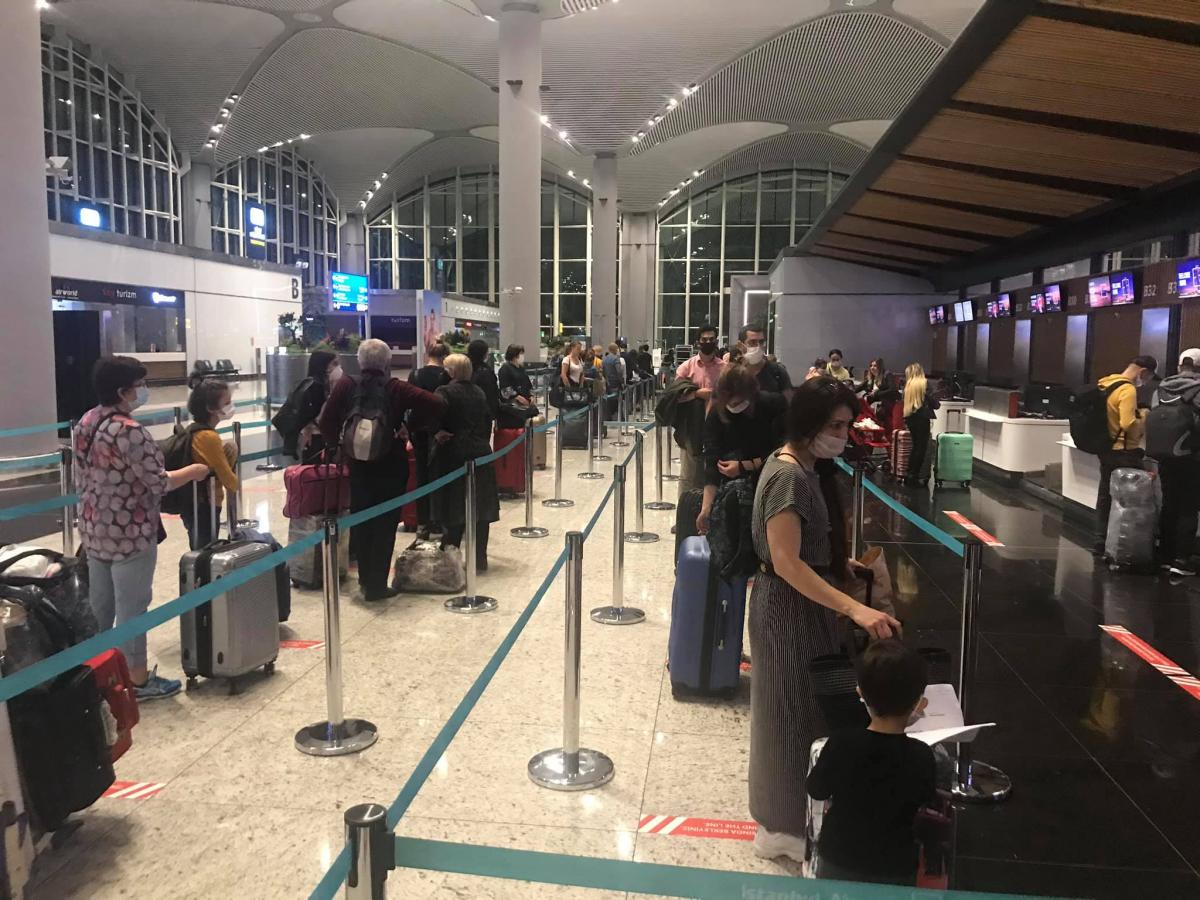 Из Турции возвращаются более 100 украинцев / фото facebook.com/CGUinIstanbul
