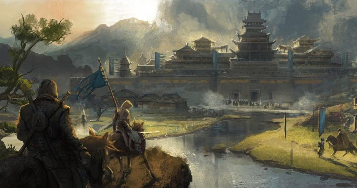 Такмогла бы выглядеть Assassin's Creed про Японию / thegamer.com
