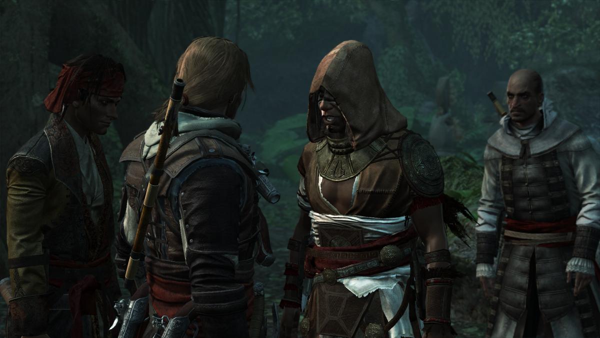 Кадр из Assassin's Creed Black Flag / скриншот