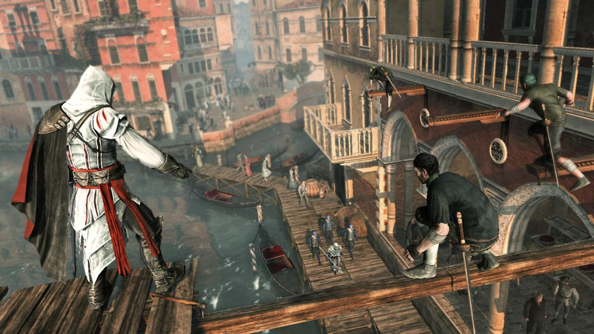 Кадр из Assassin's Creed II / ubisoft.com