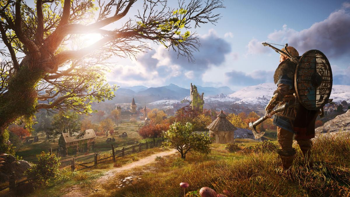 Кадр з Assassin's Creed Valhalla / ubisoft.com