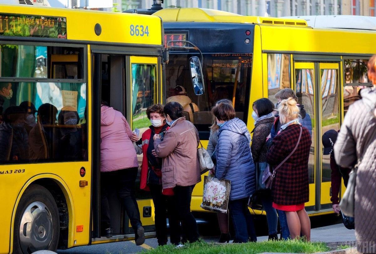 С 22 мая должна быть разрешена работа общественного транспорта / Фото УНИАН