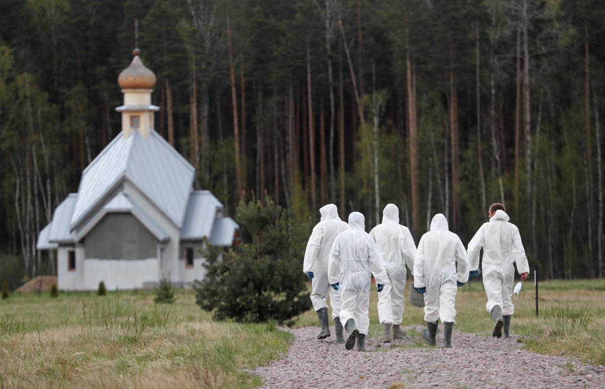 Рекордный суточный прирост больных коронавирусом зафиксировали в России / фото REUTERS