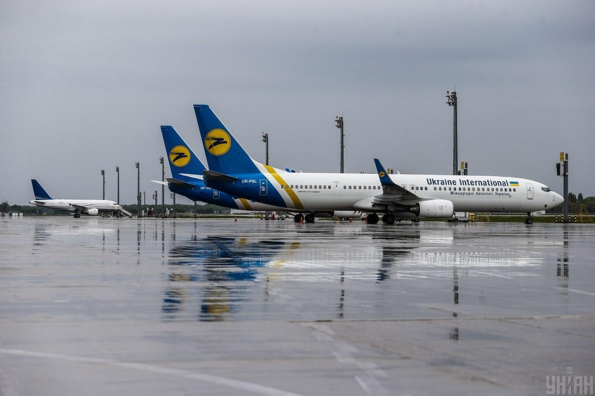 Украина может приостановить авиасообщение с Британией / фото УНИАН