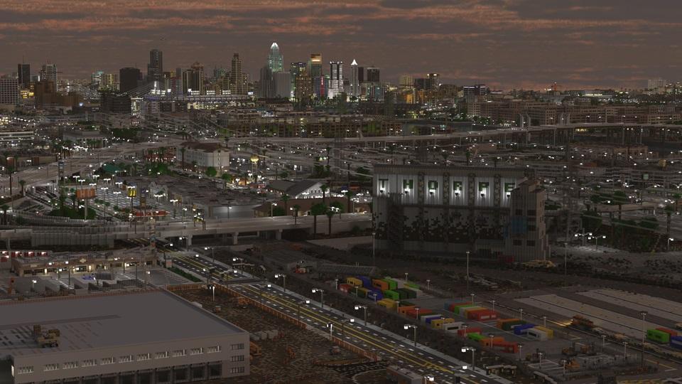 При створенні міста гравці надихалися Лос-Анджелесом / reddit.com