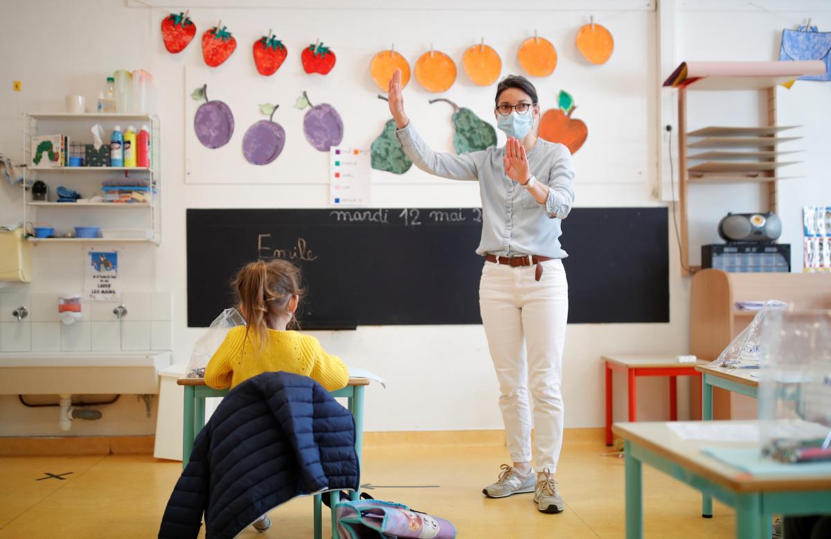 В Україні з 1 вересня не працюватимуть виключно школи з «червоної» зони епіднебезпеки / ілюстрація / REUTERS