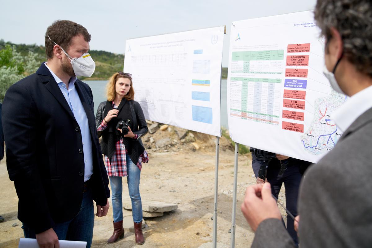 В Одесской области будет построено или отремонтировано 133 км дорог / фото facebook/Мінінфраструктури