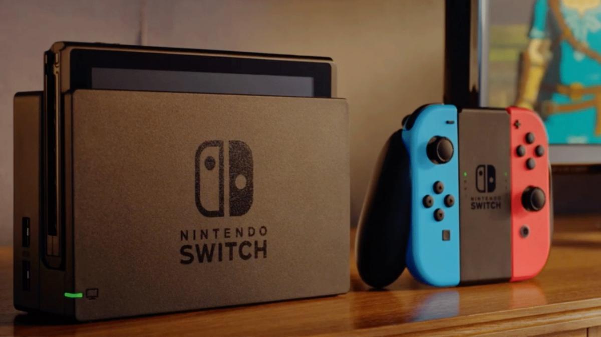 Nintendo Switch работает как стационарная и портативная консоль / twitter.com