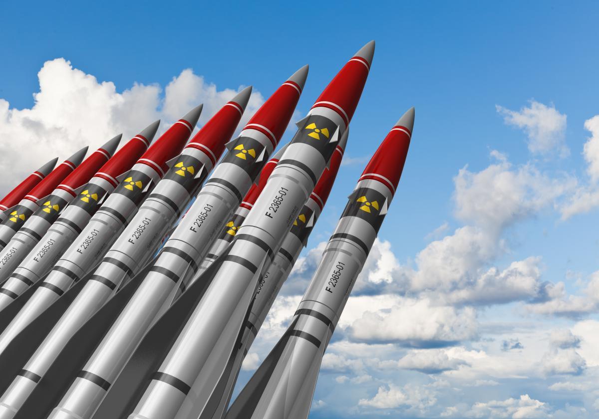 В України було близько 46 ядерних боєголовок на твердому паливі, решта були рідиннопаливними/ фото Depositphotos