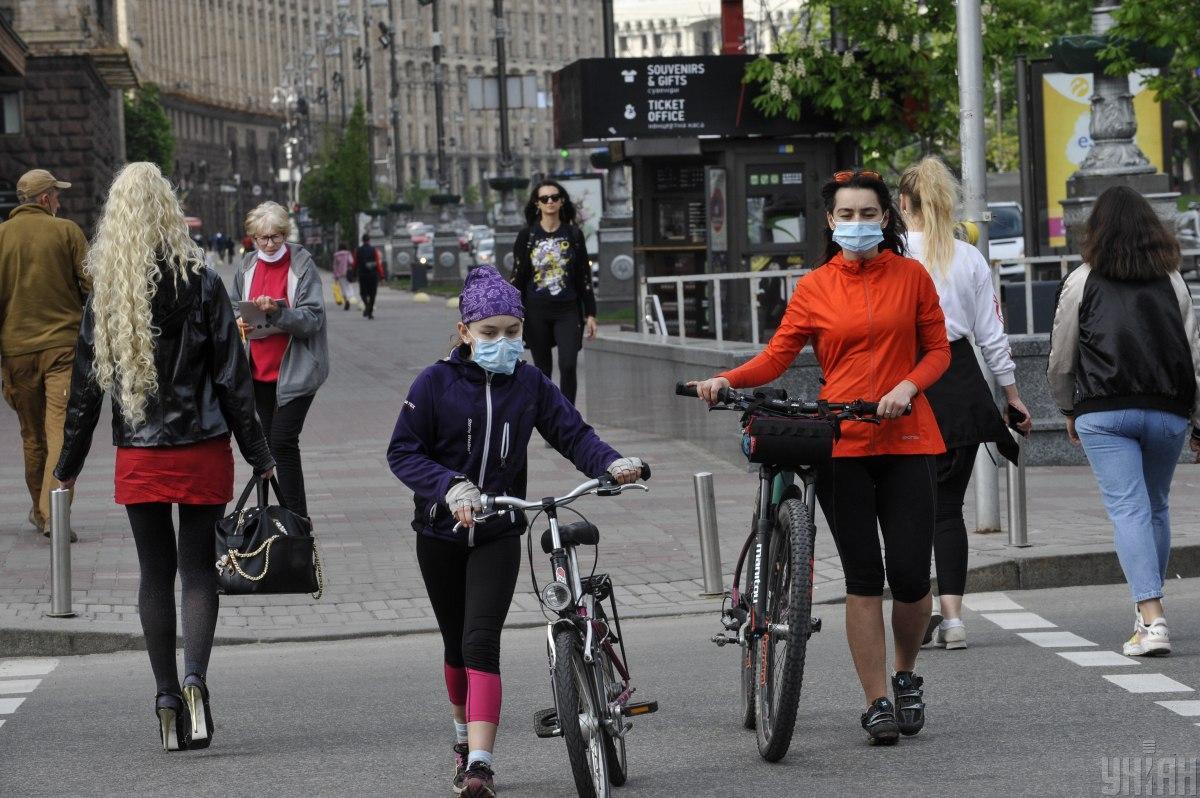 В столице уже 2321 подтвержденный случай заболевания COVID-19 / фото УНИАН