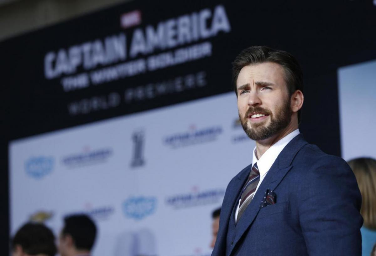 Кріс Еванс прославився завдяки ролі Капітана Америка / фото REUTERS