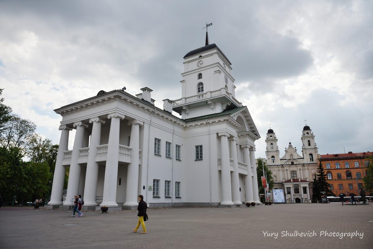 Ратуша у Верхному місті / фото Yury Shulhevich