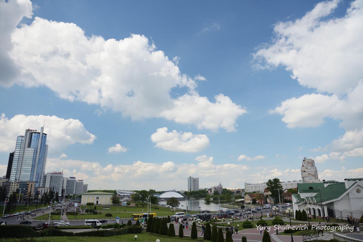 Панорама з оглядового майданчика / фото Yury Shulhevich