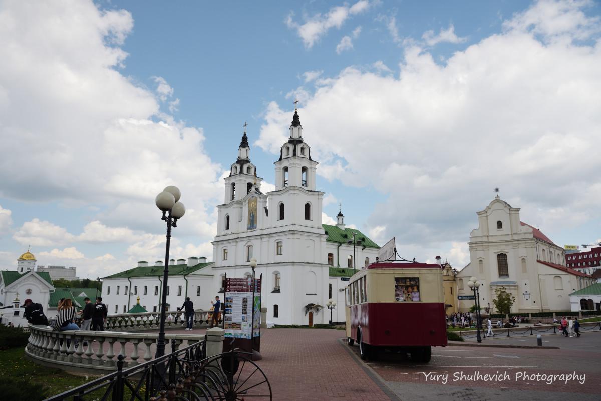 Собор Сходження Святого Духа у Мінську / фото Yury Shulhevich